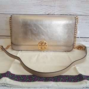🔥HP🔥 New Tory Burch Chelsea Convertible Clutch